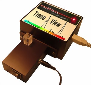 Picture of Spectrometer for Transmittance Measurement