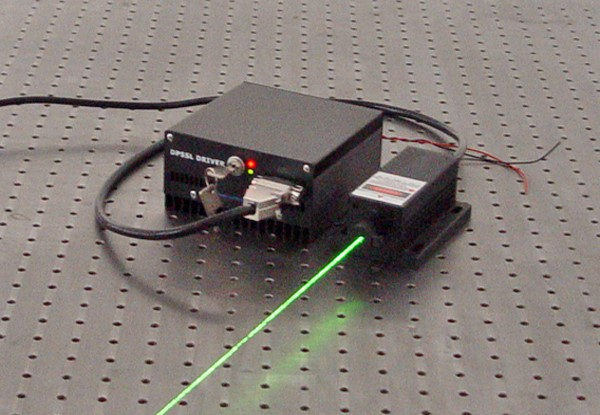 Picture of 1~200mW 532nm SLM Laser