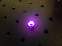 Picture of 1W 405nm laser diode
