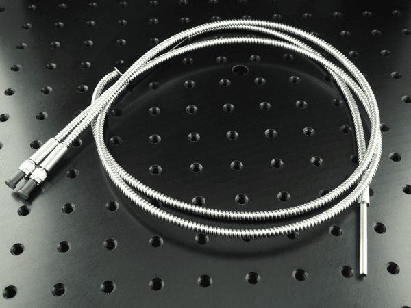 Picture of Y-Fiber Probe for Reflection Measurements