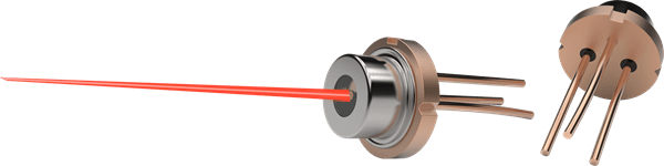 Bild von 200mW 635nm Single Mode Laserdiode