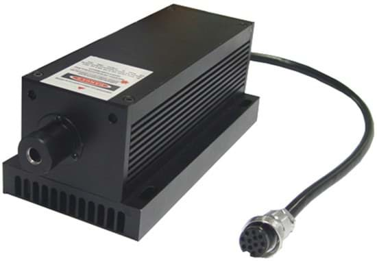Picture of 100mW 593,5nm DPSS Laser